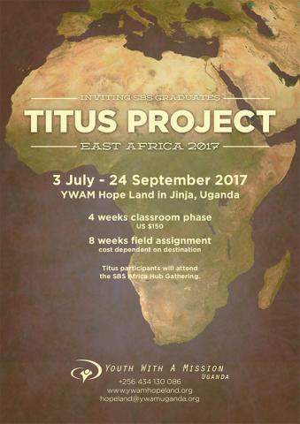Titus Project Flier
